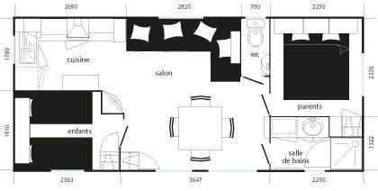 Plan du Mobilhome Sumba
