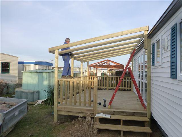 Vente De Terrasses En Bois Pour Mobil Homes Vendee