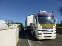 Transport de mobilhomes