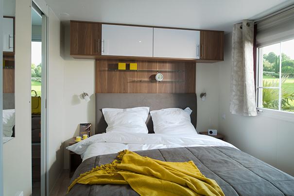 Chambre 1 du mobilhome 2 chambres